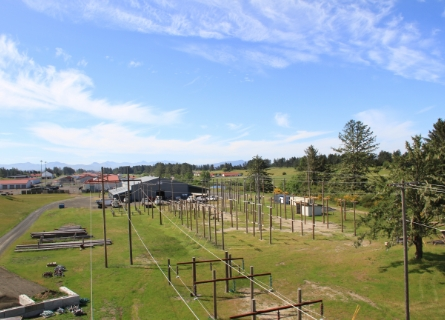 View from powerline